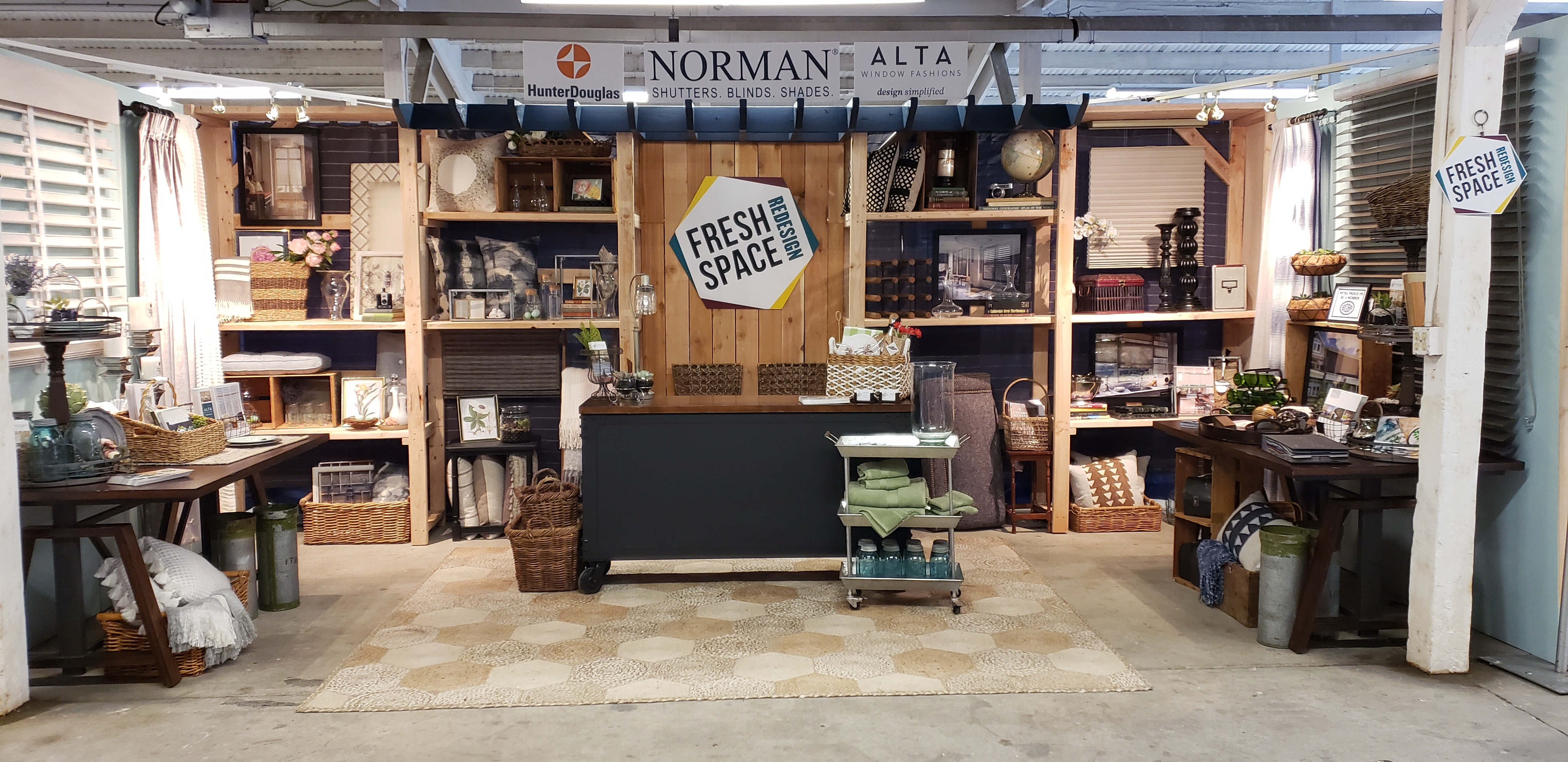 Fresh Space Redesign booth, SICBA Home & Garden Show